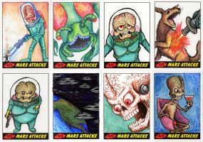 Heritage Mars Attacks! Sketch Cards - 07 by Monster-Man-08