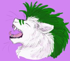 Ives Yawn by ivorydragoness