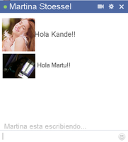 Chat falso de Martina Stoessel by Kamiitinista