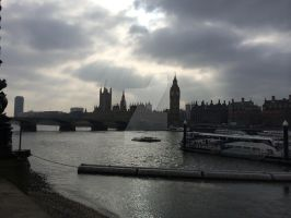 The London Big Ben and The Houses of Parliament by LimitedEditionLTE