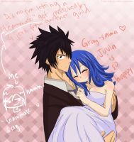 (Fairy Tail) Wedding Dress :Gruvia by xBebiiAnn