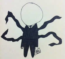 Chibi Slenderman by Kzar5678