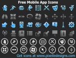 Free iPhone Icons by Ikonod