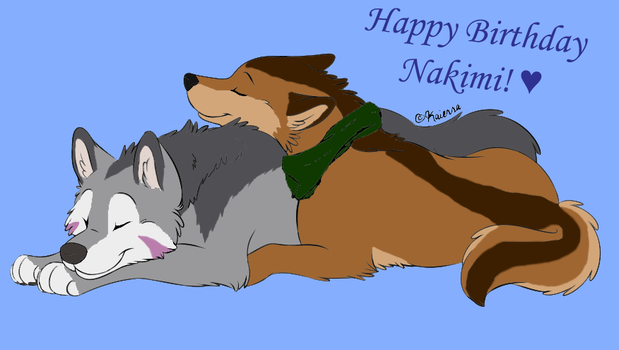 Gift for Nakimi by Haiwan-Demor