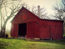 Old Red Barn by XxLonerEyesxX