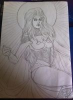 The mutant madonna -bad quality- by Kaedegirl