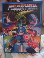 Megaman tribute art book by Twilightberry