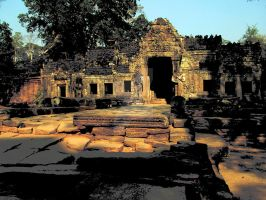 Temple in Angkor by gatonegro2551