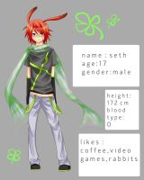 Character Reference : seth by Itsezu