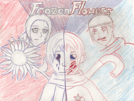 Frozen Flowers Cover Page by MorthaUnderwood