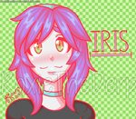 Iris ' ^ ' by RoxieTheDerp