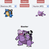 Pokemon Fusion: Blastter by SecminourTheThird