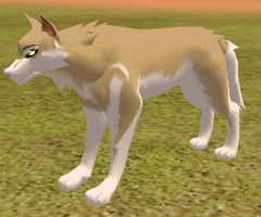 WolfDog Hybrid playable *head* by Some-Art