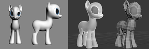 Pony Wireframe by IG-64