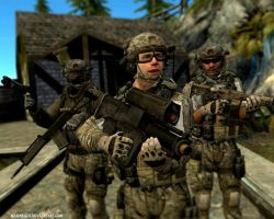 MW3: Delta Force generic pose by MarineACU