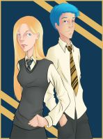 DH --- Teddy and Victoire by rylla