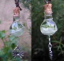 Magic Vial - Cancer Zodiac by Izile