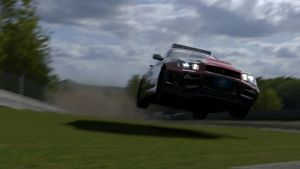 Flying the Nurburgring in GT5 by revsorg