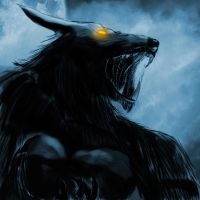 Werewolf Speedpainting by Dragonborn91