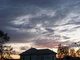 june 15th sunset 2 by BlueIvyViolet