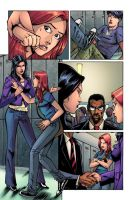 Birds of Prey 121 pg 12 by ChrisSummersArts