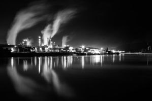 Nuit Portuaire by Jbuth