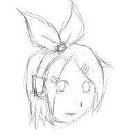 quick rin sketch by DarkT0rQu3