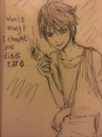 What's wrong? sketch by peore