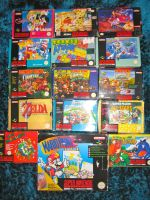 SNES Game Collection by MizukiiMoon