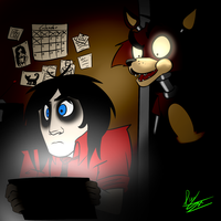 Kevin Play Five Nights at Freddy's by DinoSam