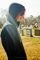 Jesse at the Cemetery by MariaWillhelm