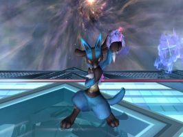 SSBB  Lucario by Starcraft3000