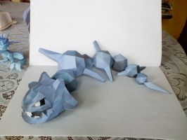 Steelix papercraft by Weirda208