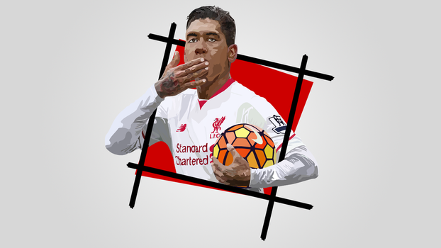 Wallpaper | Firmino 3 by NiromaArts
