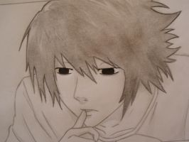 L Lawliet by Nolife0123