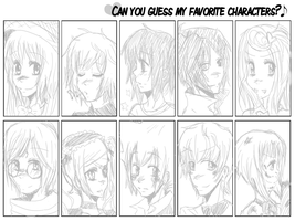 Character Quiz Meme by iondra
