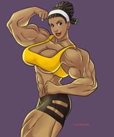 The Strong Arms of Donni - Non-Canonical Muscle by Odie1049
