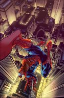 Revisited Spider-man City Swinging by Creation-Matrix