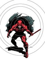 Daredevil with Color by LostonWallace
