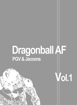 PGV's DBAF - VOL.1 fanmanga internal Cover by DragonballAF