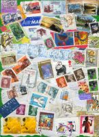 Postage Stamp Stock by RX-stock