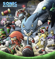 SONIC ADVENTURE by Raito-Sarudoi