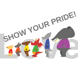 Show Your Pride by Red-Rat-Writer