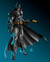The Dark Knight by RedHeretic
