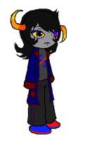 Llyona Fang Sprite by DragonFang17