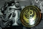 Belt buckle Fallout Brotherhood of Steel by TimforShade