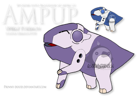Fake Pokemon - Ampup by Prinny-Dood