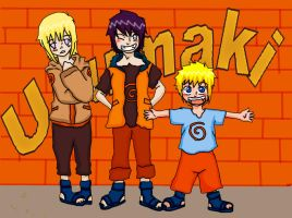 Uzumaki-Hyuuga Kids by blackrouse1