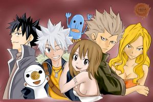 Rave Master group by ChristianStrange3