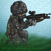 REQUEST Little Soldier Icon REQUEST by I3-byUsagi